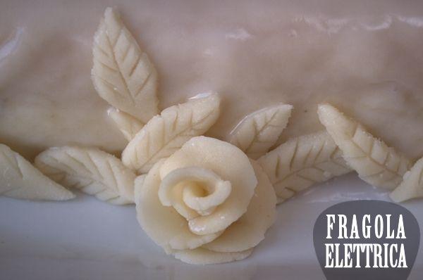 DECORAZIONE MARZAPANE CASSATA SICILIANA fragolaelettrica.com Le ricette di Ennio Zaccariello #Ricetta