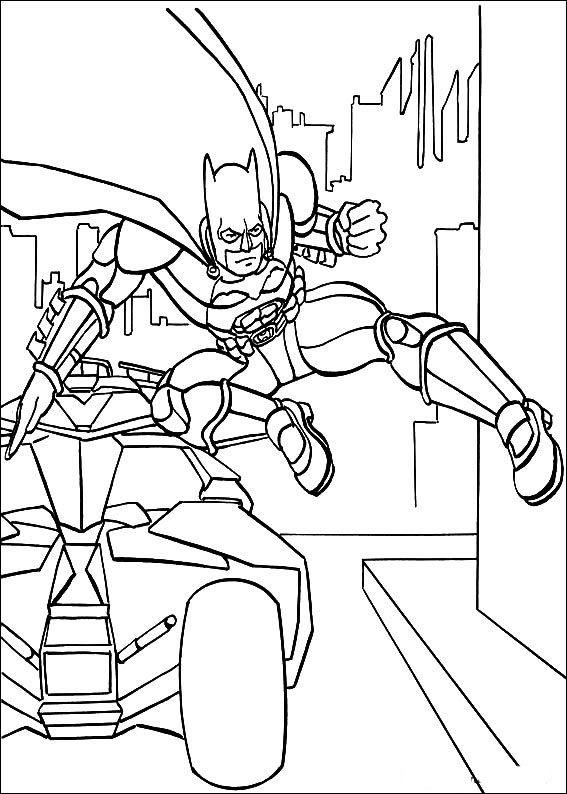 Batman Fargelegging For Barn Tegninger Utskrift Og No 12