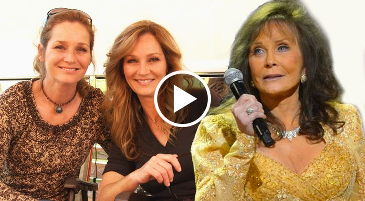 In this touching video, Loretta Lynn and her twin daughters, Peggy and Patsy Lynn, share a heartwarming moment backstage, talking about their bond with their...