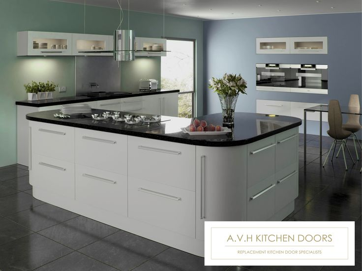 Made to measure replacement kitchen cabinet doors and drawers from www.avhkitchendoors.co.uk #replacementkitchendoors #glosskitchendoors #kitchenmakeover #madetomeasure #kitchen #cupboard #cabinet #avhkitchendoors #dovegrey