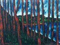 Taupo landscape no2 by Dean Buchanan