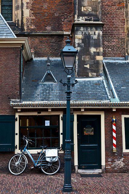 Nederlandse kapper in Haarlem.