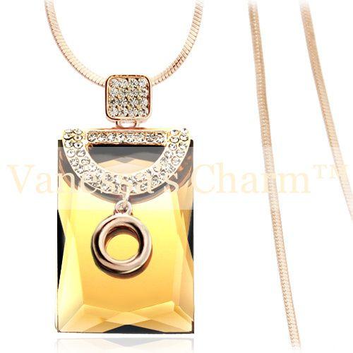 Necklace, yellow, gemstone, white, emerald, long chain, jewelry, smycken, halsband