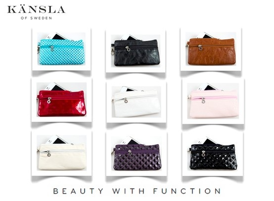 Mobile Phone Clutch Bag! Cell Phone Purse! Holds all your necessities - Beautifully! kansla.se