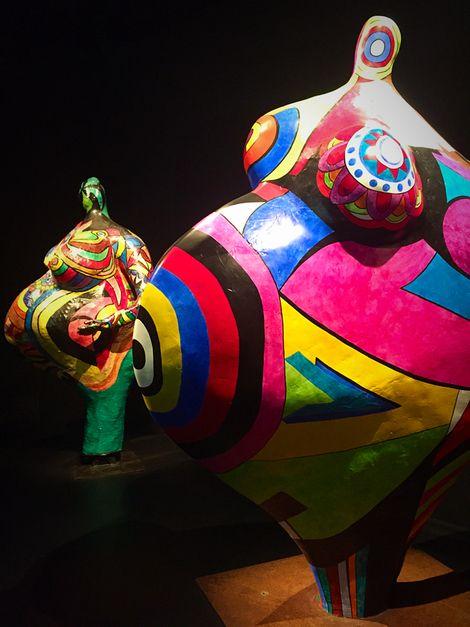 Niki de Saint Phalle, Les Nanas on ArtStack #niki-de-saint-phalle #art