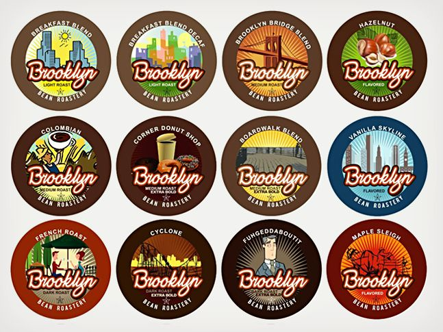 Brooklyn Beans K-Cup Variety Pack | Cool Material