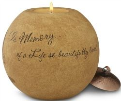 17 Bereavement Gift Ideas for the Loss of a Mother #sympathygifts #candles