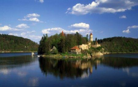 Zvíkov - Tajemná věž Markomanka