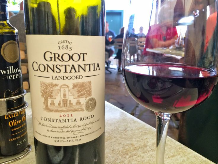 Lunch at South Africa's historic Groot Constantia Wine Estate