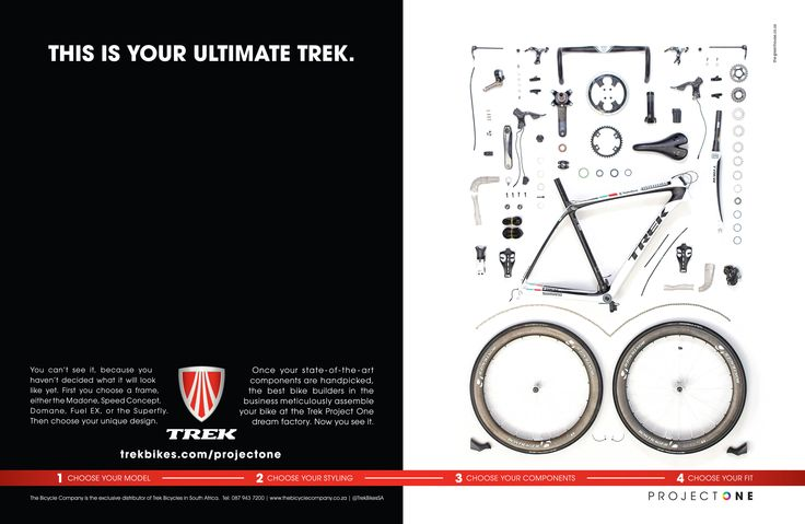 Trek - Project one. By http://www.the-greenhouse.co.za/