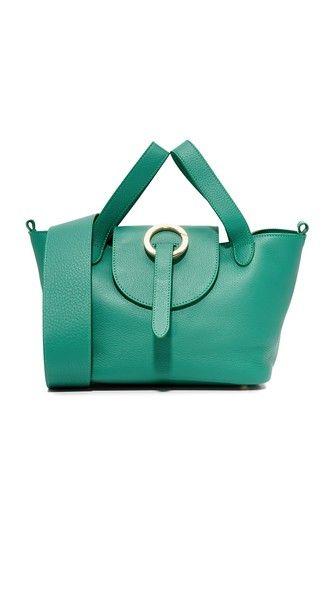 MELI MELO Rosa Thela Mini Satchel. #melimelo #bags #shoulder bags #hand bags #leather #satchel #