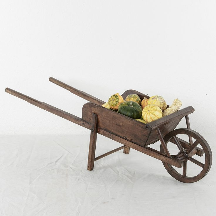 Artisan-Made Child's Wheelbarrow