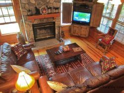 Eagles Nest - 5BR Cabin in Boone, NC