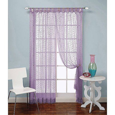 Beacon Looms Groovy Sequin Curtain Panel Purple Sequin Curtains