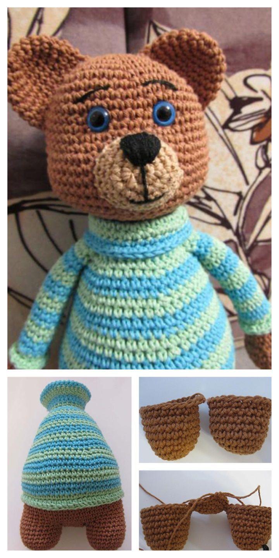 Lovely Teddy Bear Amigurumi - Tutorial #amigurumi #crochet ...   1440x720