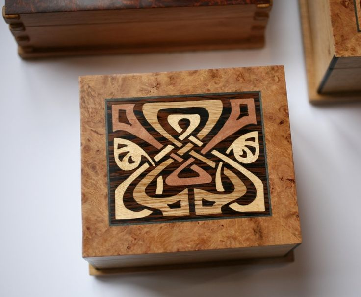 Small Marquetry Boxes - Robinson-Gay Gallery