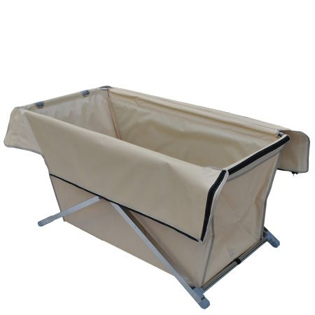 "I gues I don't just ""need"" this, but it would be pretty cool for an extended campout.  Portable folding hot bath tub"