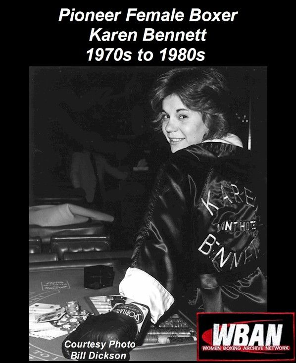 """""""KAREN BENNETT – A GREAT PIONEER IN WOMEN BOXING, SHE WAS WORLD RANKED #1 BANTAMWEIGHT IN 1979, and WORLD RANKED BANTAMWEIGHT IN THE 80's"""" KAREN BENNETT lived and tra…"""