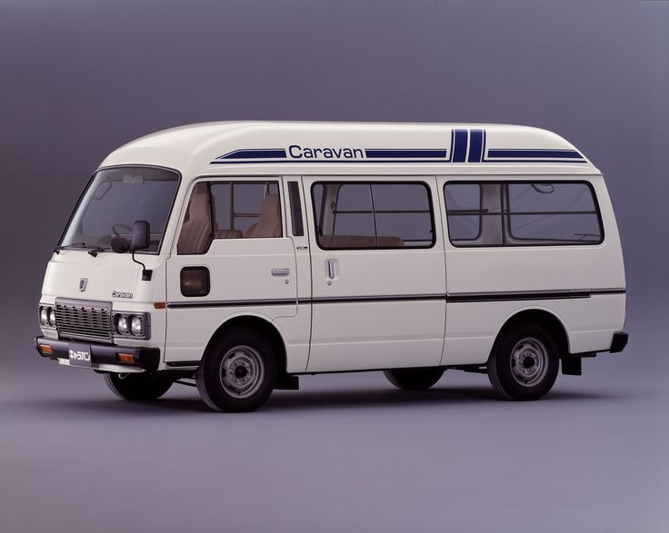 Nissan Caravan High-Roof (E23) '1980–86