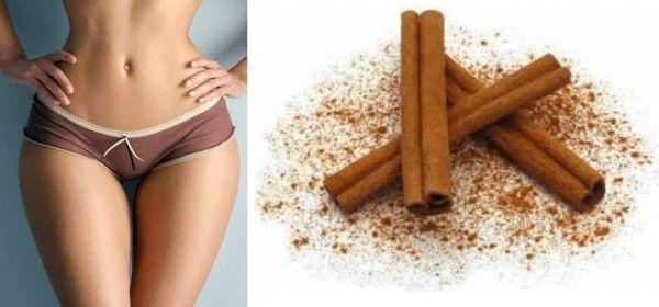 Jeśli chcesz schudnąć, cynamon i liście laurowe są doskonałym wyborem. Połączenie tych dwóch składników jest bardzo korzystne, ponieważ ułatwia trawienie i przyspiesza metabolizm. Poprzez przyspieszenie metabolizmu nasz organizm potrzebuje więcej tłuszczów do przeprowadzenia tego procesu, więc będzie uciekać się on do podjęcia tłuszczu odłożonego w trudnych obszarach ciała (takich jak talia, pośladki i brzuch).