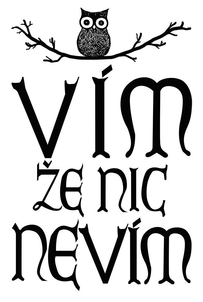 Typografický plakát duben 2015