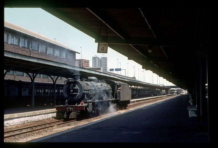 Port Elizabeth station - long ago