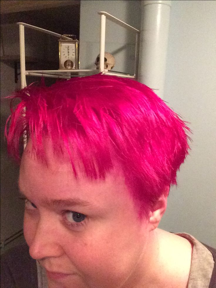 Cerise hair colour by Directions. I love this colour!