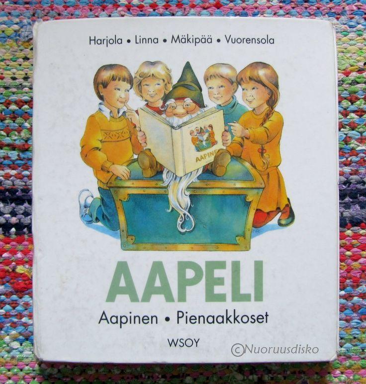 Aapinen on yleensä jokaisen koululaisen ensimmäinen koulukirja ja sen lisäksi kirja, jonka saa omaksi. Aapista tahkotaan koulussa pitkään, ...