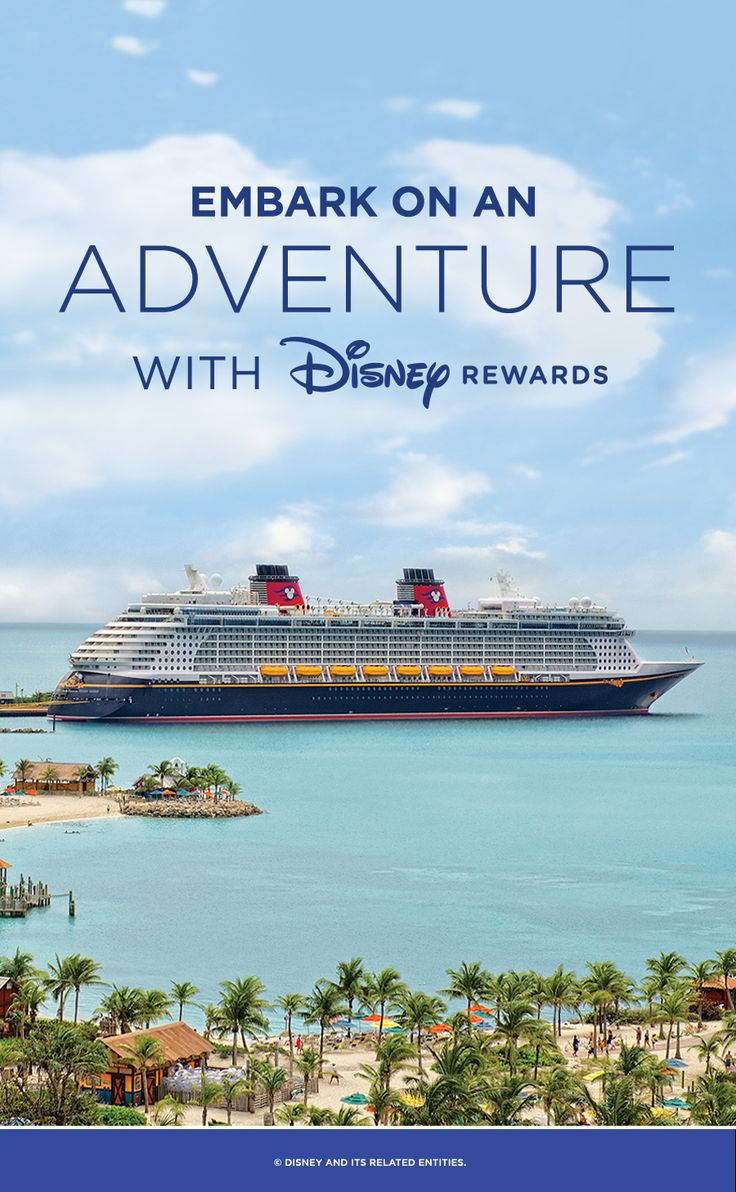 Learn how to save on your Disney Cruise Line vacation with Disney Rewards.