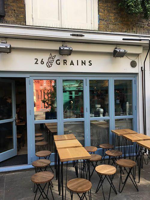 Heb je al genoeg van de ontbijtadresjes? Nee? Mooi! Rachel geeft weer een van haar favorieten in Londen: 26 Grains, voor de gezellige havermout.