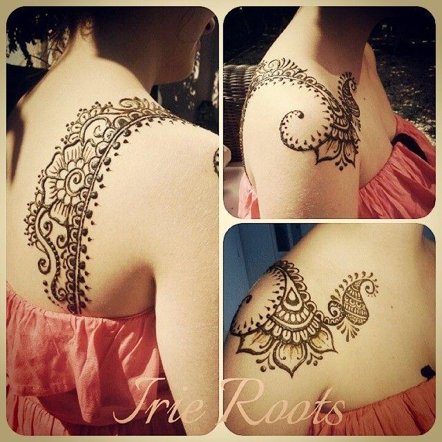 Mehndi design henna by Irie Roots