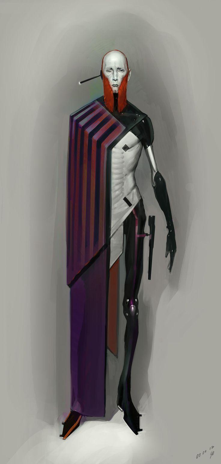 Red Duelist, Timur Mutsaev on ArtStation at https://www.artstation.com/artwork/G6YPz