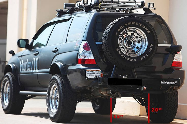 Crazily Lifted Forester Meet Noisy Boy Subaru Forester