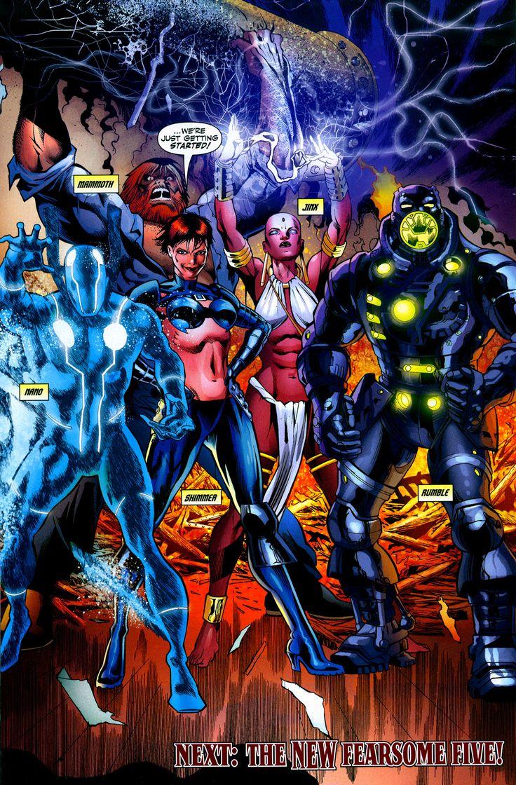 Jinx DC Comics | Teen Titans Jinx DC Comics
