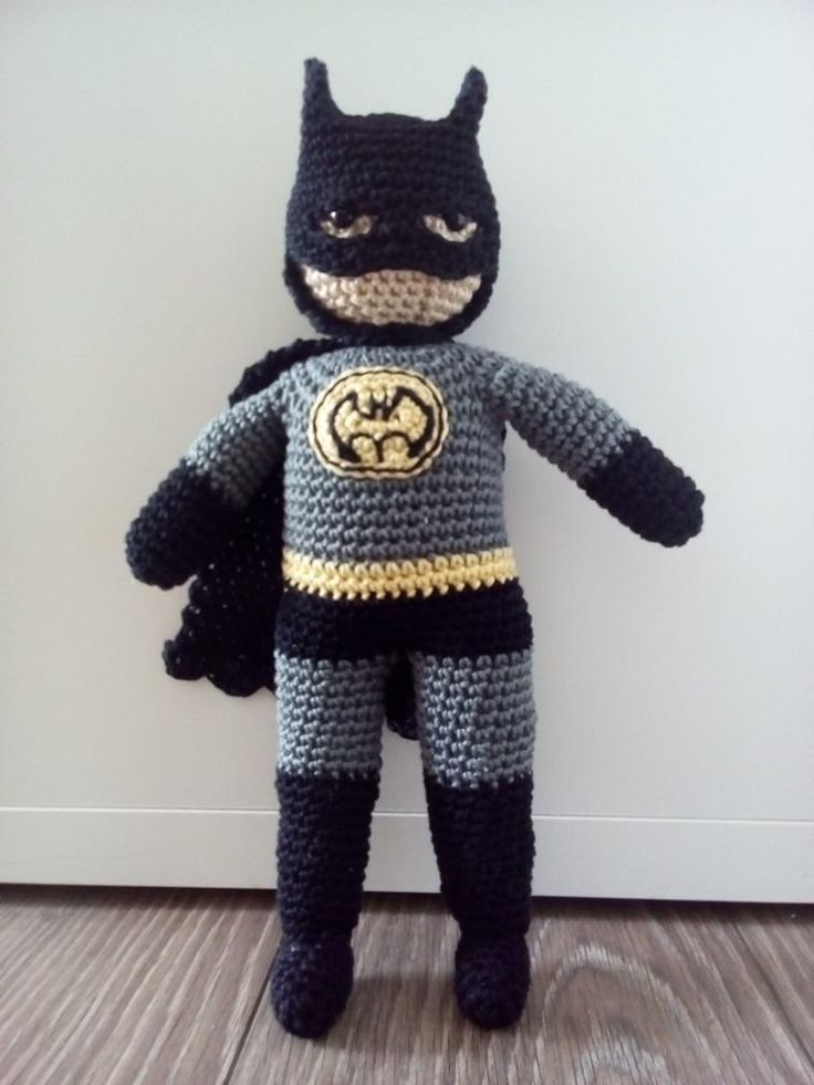 Free Amigurumi Batman Pattern : 25+ best ideas about Crochet batman on Pinterest ...