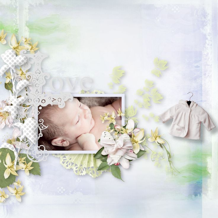 """""""My baby love"""" by Xuxper Designs, https://www.digiscrapbooking.ch/shop/index.php?main_page=product_info&cPath=22_237&products_id=26469&zenid=jd5amttm7atlm9mf3305s5oi07, photo Pixabay"""
