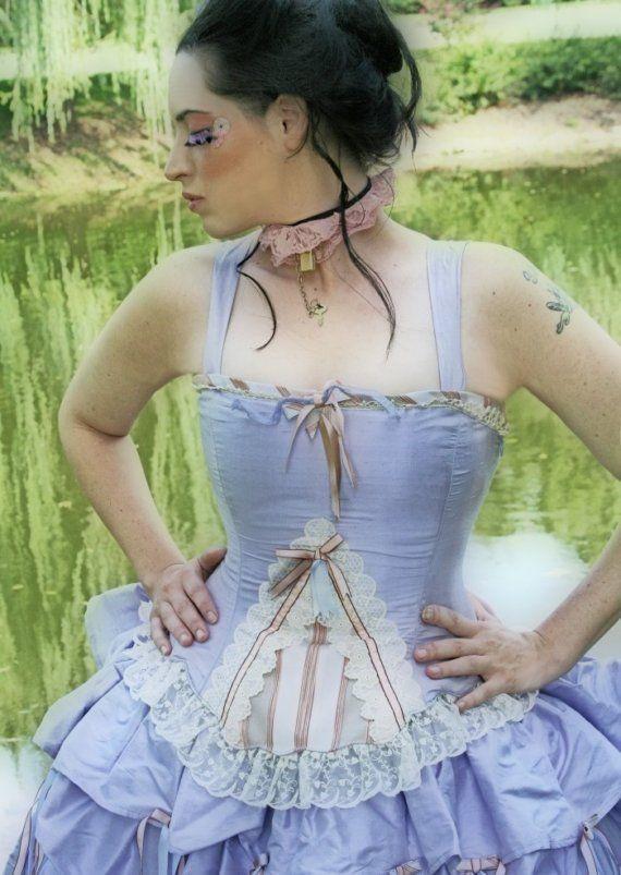 Fantasy Wedding Dress Steampunk Alternative Victorian ...