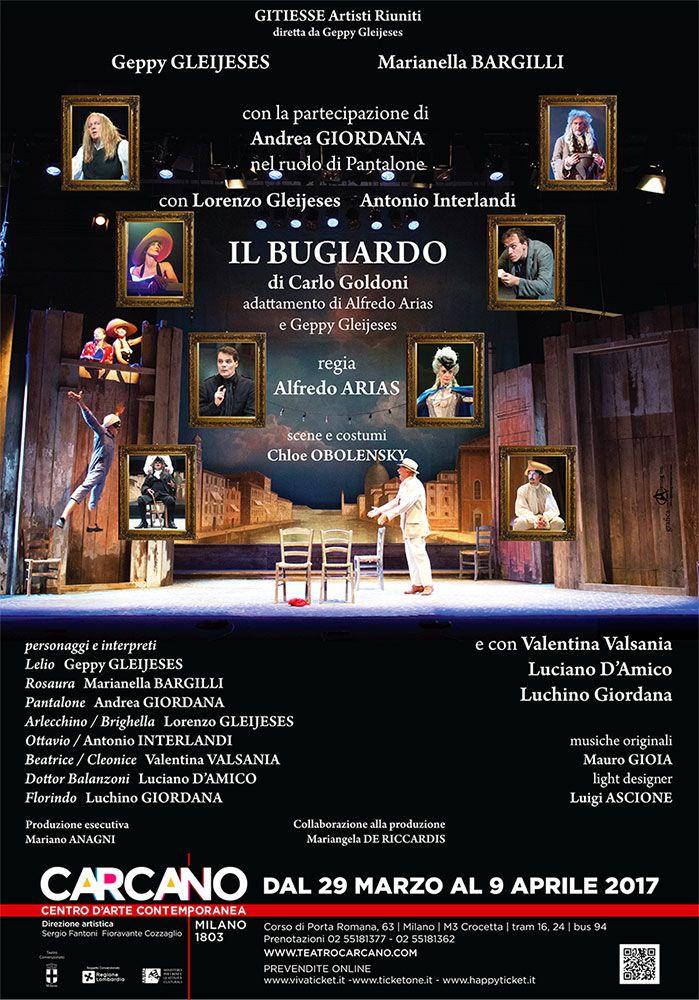 Geppy Gleijeses  Marianella Bargilli  Andrea Giordana IL BUGIARDO | Teatro Carcano
