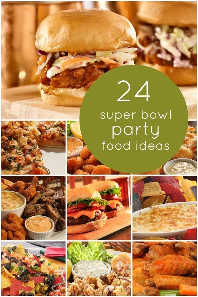 24 Super Bowl Party Food Ideas www.spaceshipsandlaserbeams.com