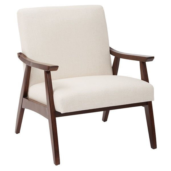 Ave Six Mid Century Davis Arm Chair   18682070   Overstock   Great Deals On  Office Star Products Living Room Chairs   Mobile