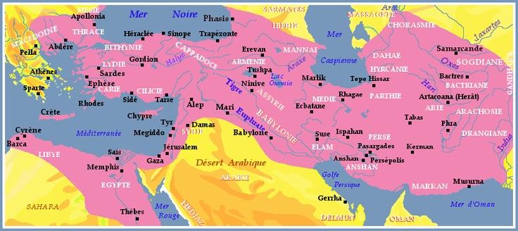 L'Empire Achéménide sous Darius I