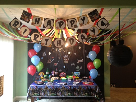 angry birds star wars party - Star Wars Party Decorations