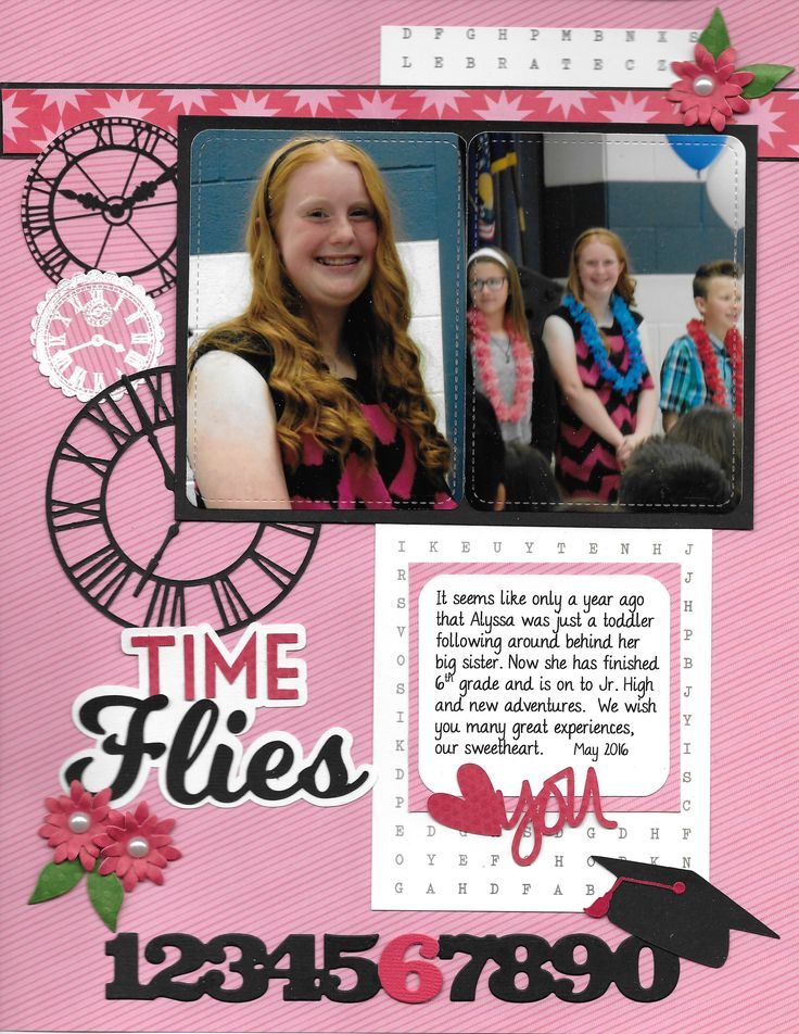 Time Flies - Scrapbook.com