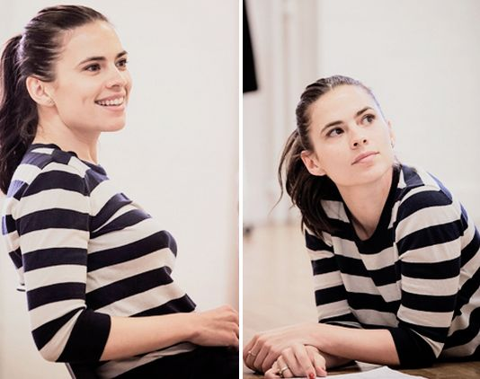 oh no how do u || Hayley Atwell || Twitter || #cast