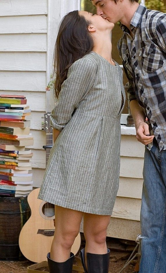 Lovely little tunic pattern by Montessori by Hand.