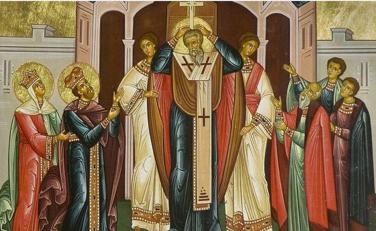 14 septembrie - Inaltarea Sfintei Cruci, sarbatoare consacrata cinstirii Crucii pe care a fost rastignit Iisus