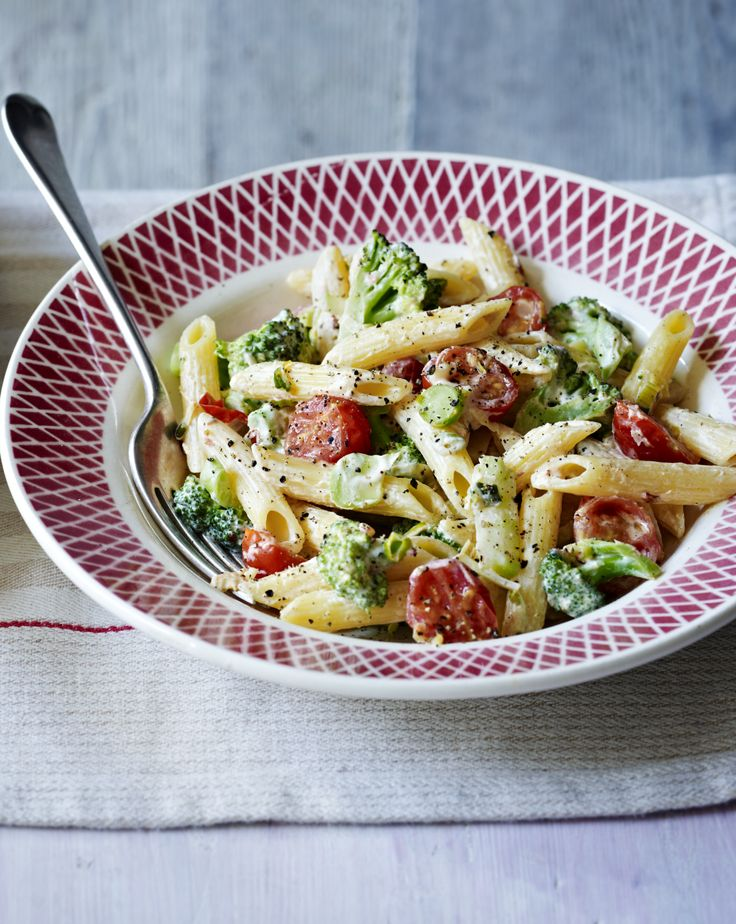 Make broccoli the star of the show with this creamy vegetarian pasta. It's a doddle to prepare and will get you on your way to five a day.