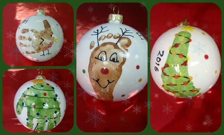 These adorable baubles are an absolute must have for this Christmas! They make the best gifts or a lovely addition to your tree this year. You can turn them into festive creatures or keep them simple with sweet messages. Phone to book in your time, bring your bundle of joy along and come get painting.  #christmas #baubles #footprints #handprints #gifts #Christmasgiftideas #robin #christmastree #reindeer #potterypainting #StNeots #Cambridgeshire