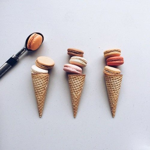 macaroon ice cream