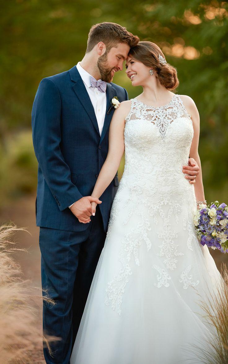 best Stunning silks satins and chiffon wedding dresses images on